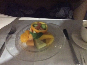 Fruit plate for snack