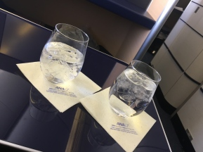 Glass of water and glass of sochou (looks identical!)