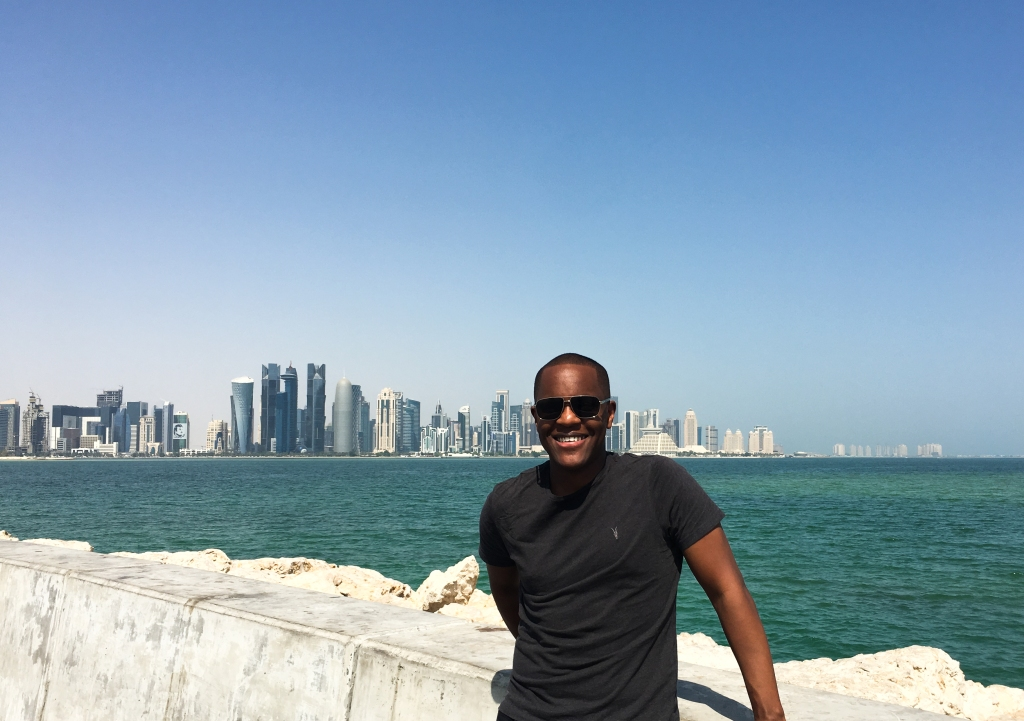 Kyle in Doha